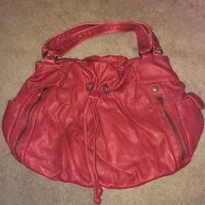 Excellent condition deep red purse